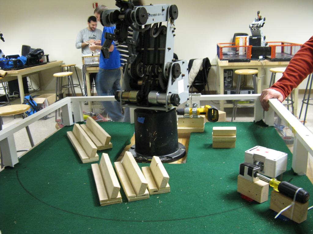 front view of the robot